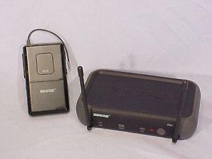 Shure PGX4 PGX1 Wireless Microphone System H6 Receiver Transmitter