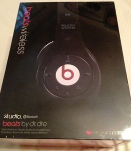 Beats Studio Wireless Headband Headphones Black