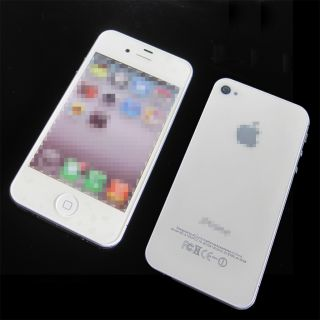 New White iPhone 4S Dummy Display Nonworking Fake Phone Toy Phone iPhone 4S 1 1
