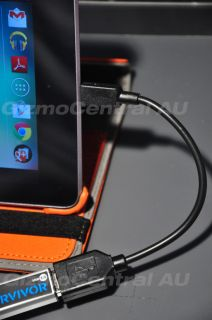 "Micro USB Host Mode OTG Cable for Google Nexus 7 7"" Tablet in Sydney"