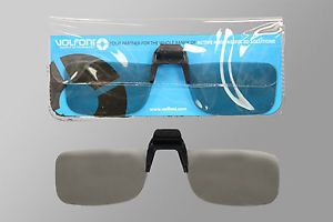 Volfoni Circular Polarized 3D Clip on Professional Viewing Glasses