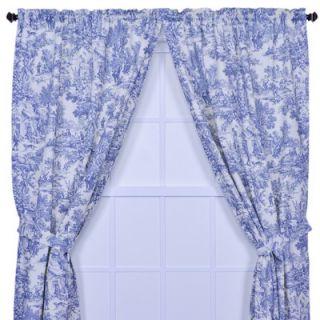 Ellis Curtain Victoria Park Toile Tailored Panel Pair Curtains With