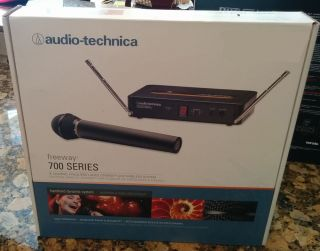 Audio Technica ATW 702 700 Series Handheld Wireless Microphone System 42005145560