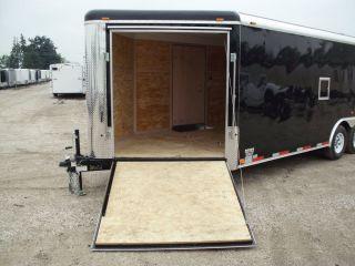 8227 New 2013 Atlas Enclosed Cargo Trailer 8 5x27' 10K GVW Auto Snowmobile Combo