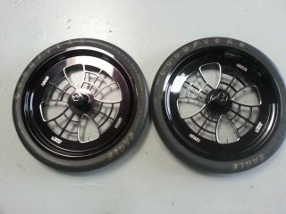 Jesse James Dragster Wheels Goodyear Tires SBC BBC Hemi Nitro Mopar