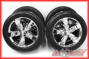 "New 20"" Jeep Grand Cherokee Factory Chrome Wheels Goodyear Tires 18 17 22"