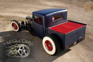 1931 1932 Ford Traditional Hot Rod Rat Chopped Pickup Truck Salt Flats 1934 Scta