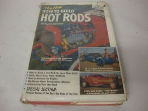 "Hot Rod Car Book ""How to Build Hot Rods"" Hard Copy Cars Book"