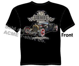 Hot Rod Tshirt Rat Rod 1927 Roadster Ford Shirts 27 Model T Sz M L XL 2XL 3XL