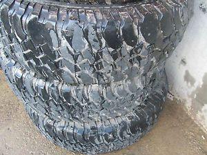 4 BF Goodrich Truck Tires 22 Mud Terrain T A 285 75 17 22