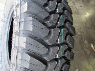 4 New 265 75R16 Thunderer Mud Tires 2657516 75 16 R16 Load Range E 10 Ply M T