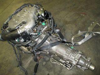Nissan 350Z Infiniti G35 JDM VQ35DE Engine VQ35 de Motor Long Block 3 5L V6 Used
