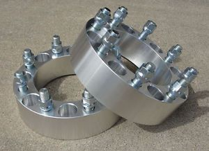 2 Pcs Chevy GMC Silverado Sierra Wheel Spacers 8LUG 3 4 Ton Truck HD