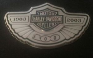 Harley Davidson 100th Anniversary Medallion