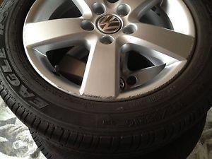 4 Factory VW 16' Wheels Mugello Rims All Season Tires Goodyear 205 55R16