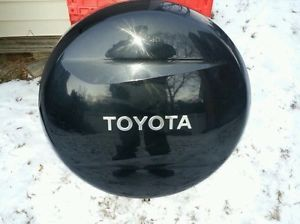 black toyota rav4 spare tire cover 2001 2005. Black Bedroom Furniture Sets. Home Design Ideas