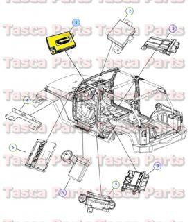 Dashboard Compass Module 2008 2009 Dodge Chrysler Jeep Vehicles 4671918AF