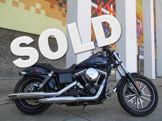 2013 Used Blue Harley Davidson FXDBP Street Bob Custom Motorcycle for Sale