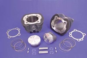 "95"" Big Bore Kit 9 3 1 Ratio Silver Cylinders Harley Davidson TC 88"" 2000 2006"