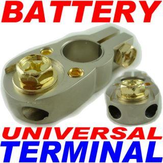 Universal Positive or Negative Battery Terminal Amp Car