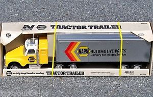 "Nylint Napa Automotive Parts Tractor Trailer Truck 28"" 1 16 Mint in Box 820D"