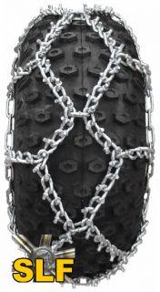 Trygg Studded ATV Tire Chains 23x8 23x10 24x9x11 24x9x12 Diamond UTV Tractor Ice