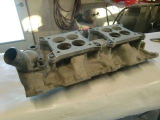 1957 1958 1959 1960 1961CORVETTE 2 x 4 Carb Intake Dual Quad Chevy 283