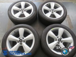 """Four 2013 Ford Mustang Factory 18"""" Wheels Tires Rims Pirelli 235 50 18 3907"""