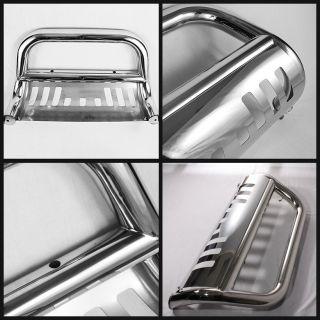 11 12 F250 F350 F450 F550 Super Duty Stainless Steel Push Bull Bar Grill Guard