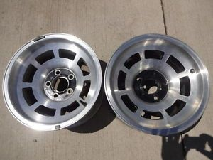 "2 15x8"" C3 Corvette Aluminum Wheels 1976 82"