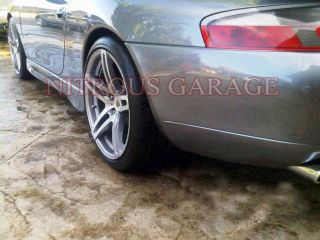"""19"""" Roderick RW5 Wheels Silver Porsche Boxster Cayman 986 987 s RW 5 Staggered"""