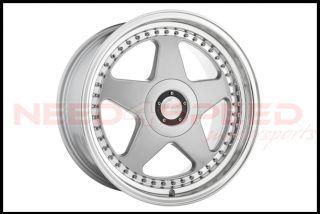 "18"" Avant Garde M240 Silver Staggered Wheels Rims Fits Scion FRS TC Subaru BRZ"