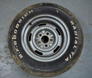 1969 1982 Corvette C3 Steel Rally Wheel AZ 15 x 8