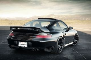 "19"" Porsche 911 997 Carrera 4S Turbo s Wide Ruger Silver Concave Wheels Rims"