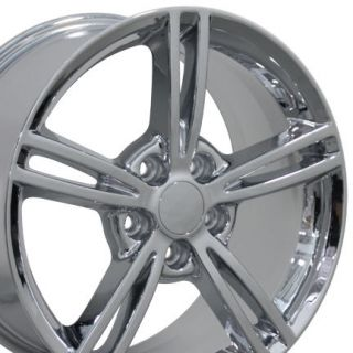 "18"" Fits Chevrolet Camaro Wheels Chrome 18x8 5 Rims Set of 4"