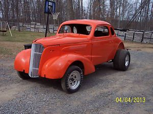 1937 Chevy Coupe Project Hot Rod Rat Rod Race Car Street Rod Awesome