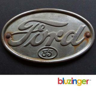 1939 Vintage 85 Ford Truck Hood Emblem