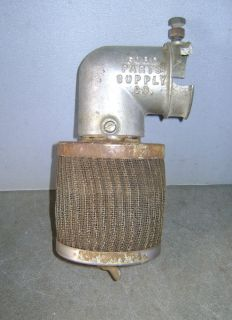 Model A Zenith Carburetor 'Ford Parts Supply' Unimaze Air Maze Cleaner Filter