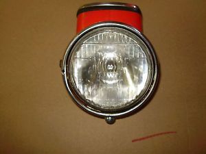 1969 Vintage Honda CT90 Trail Bike Headlight Bucket Assembly Speedometer