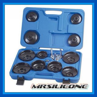 Laser Tools 3394 Oil Filters Oil Filter Wrench Set Cup Type 13pc Automotive