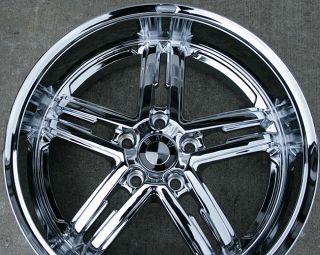 """Bremmer Kraft BR02 19"""" Chrome Rims Wheels Ford Explorer"""