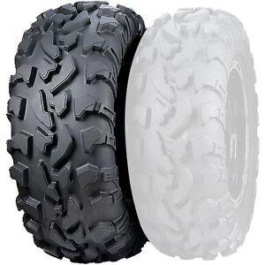 "ITP Tires Baja Cross Rear Tire 25"" 25 x 8R 12 25 8R 12 8 Ply ATV UTV Mud Tire"