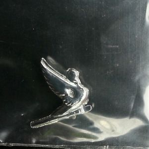 Scale Model Semi Truck Swan Hood Ornament Peterbilt Kenworth