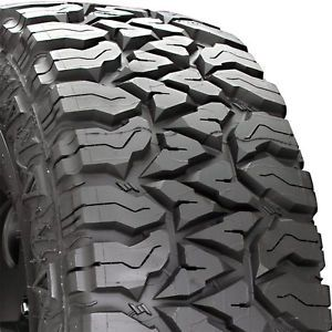 4 New 35 12 50 17 Fierce Attitude Mud 1250R R17 Tires Certificates