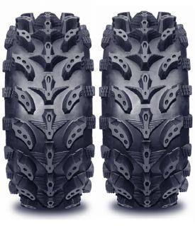 Pair 2 6 Ply 24x8 12 Interco Swamp Lite ATV Tires 24 8 12 Mud Tire 6 Ply