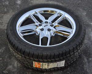 """Ford Edge 20"""" Chrome Wheels Rims Tires 2011 2012 2013"""