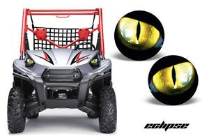 AMR Head Light Eyes Graphic Decal Cover Kawasaki teryx UTV 2010 Parts Eclipse