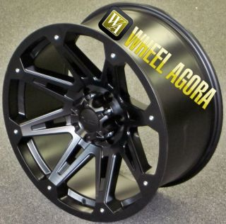 "20"" Wheels Tires 35x12 50R20 DW901 8x165 Chevy GMC Dodge Hummer Yukon RAM Lifted"