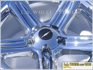 """Set of 4 New 18"""" Ford F 150 Lighting Chrome Wheels Rims"""