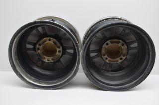 07 Suzuki King Quad 700 Front Rear 12x7 ITP SS Rims Lt A700X 4x4